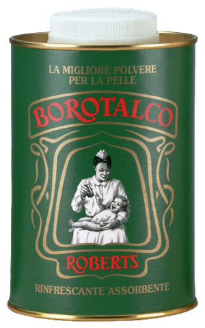 Roberts Borotalco Body Powder Shaker Tin 1Kg
