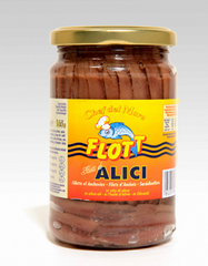Anchovy fillets in olive oil 300 g jar