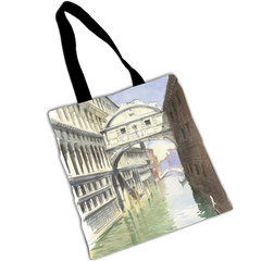 "TENDERINI ""BRIDGE OF SIGHS"" SHOPPER"