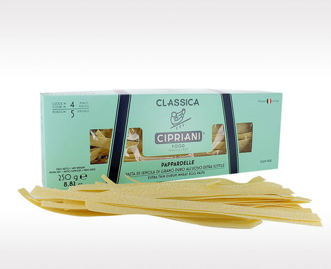 Cipriani Pappardelle Egg Pasta (12x250g)