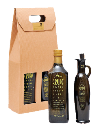 Crudo Extra Virgin Olive Oil from Puglia Gift
