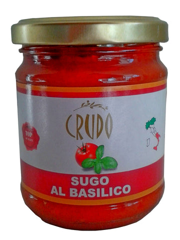 Crudo 'Tomato with Basil' Pasta Sauce 180g jar
