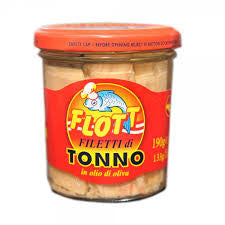 Sicilian Tuna Fillets in EV Oil 190g jar