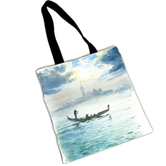 "TENDERINI ""GONDOLA AT SUNSET"" SHOPPER"