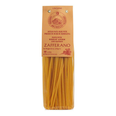 Morelli Linguine with Saffron (250g /8.81 oz )