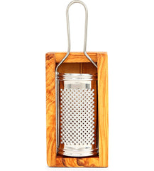 Seggiano Olive wood small cheese grater