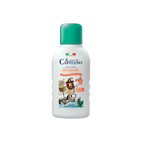 Pasta del Capitano Junior Mouthwash - Soft Mint - 250ml