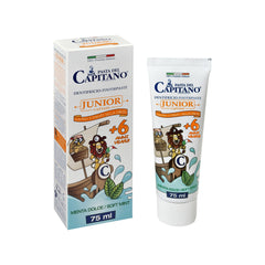 Pasta del Capitano Junior Toothpaste - Soft Mint - (75ml)