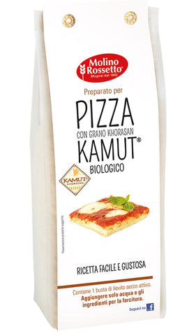 Molino Rossetto Pizza Mix with KHORASAN KAMUT Flour - 400G