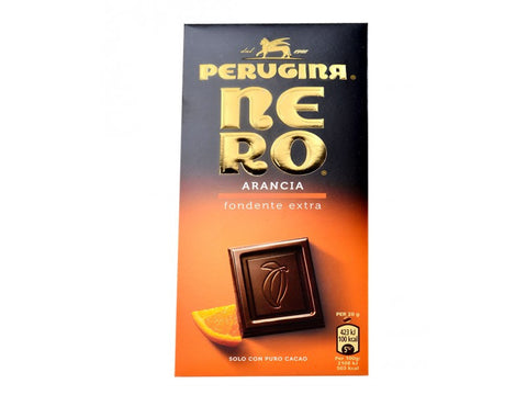 Perugina Nero Chocolate with Orange Bar - 100g