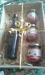Crudo EVOO Oil & Pasta Sauces Hamper from Puglia