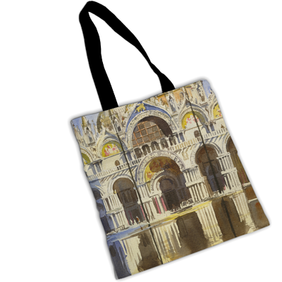 "TENDERINI ""ST MARK'S BASILICA"" SHOPPER"