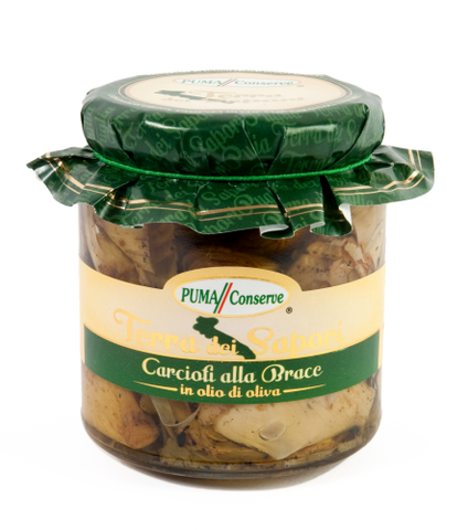 Puma Grilled Artichokes in Olive Oil from Puglia 280g