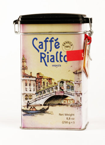 Caffe del Doge Rialto Decorative Tin w/ Ground Coffee (250g)