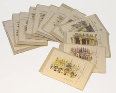 Tenderini Venice Cards Collection Set of 6 Note Cards & Envelopes