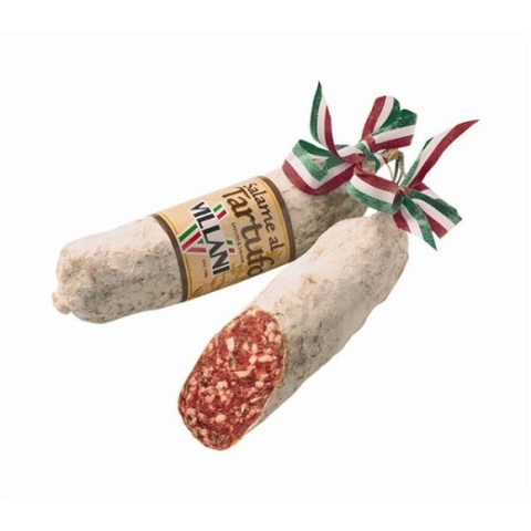 Villani Salami with Black Truffles 230g