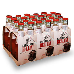 Cipriani Bellini Peach Mix - Caterer Case of 24 x 180ml