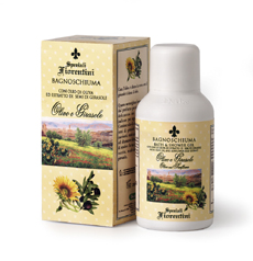Speziali Fiorentini Olive & Sunflower Bath & Shower Gel 250 ml