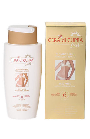 Cera di Cupra High Protection Sun Milk SPF 6 (200ml)