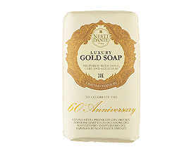 Nesti Dante 60th Anniversary Gold Soap (250gr/8.8oz)