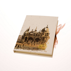 Tenderini 'Views of Venice: St. Mark Basilica' Notebook (Large)