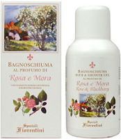 Speziali Fiorentini Rose & Blackberry Bath Gel 250ml