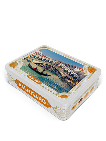 Venetian Biscuits Rialto Bridge Tin 400g