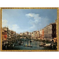 Rialto 'Canaletto' wrapping paper size cm. 70 x 100