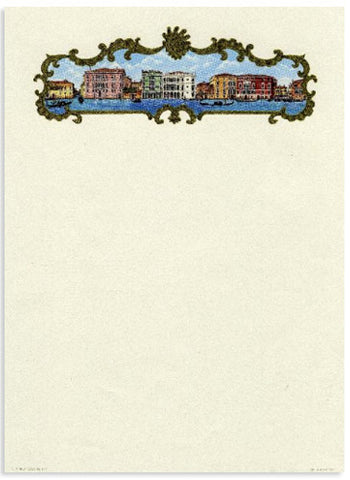 'View of Venice' Stationery 10 sheets & 10 envelopes