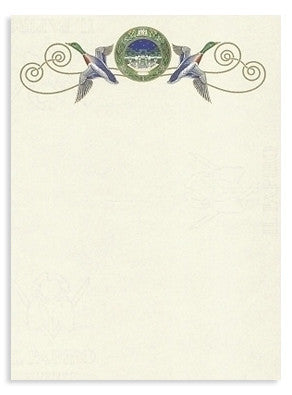 Pheasant Stationery 10 sheets & 10 envelopes`
