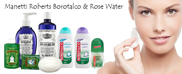 manetti roberts borotalco and rose water