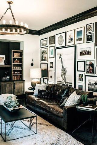 eclectic wall art