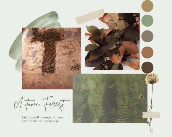Autumn Forest Collection Mood Board