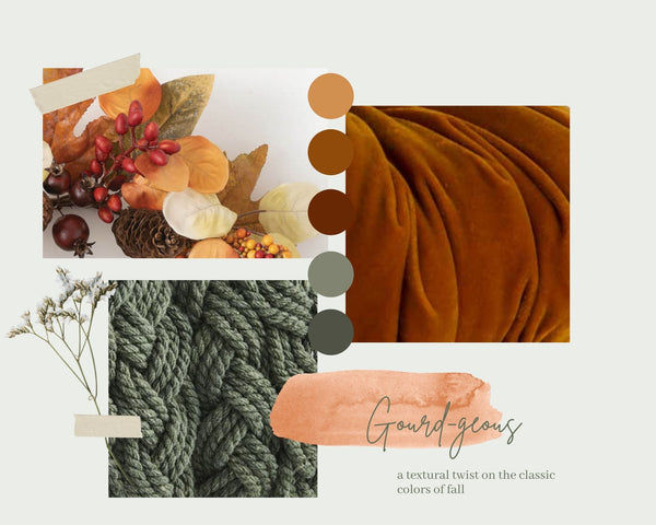 Gourd-geous Collection Mood Board