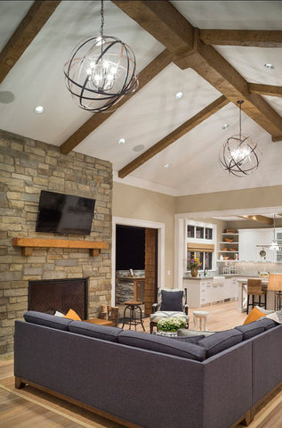 Ambient lighting in family room