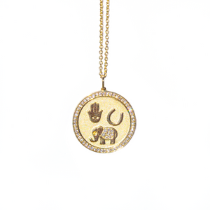Luck and Protection Coin Necklace
