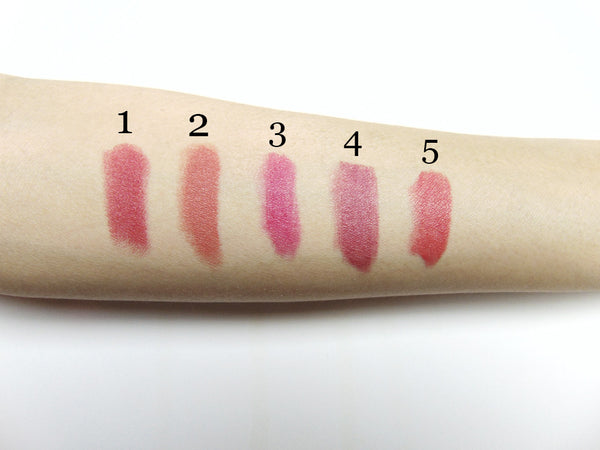 Organic Lipstick - Pretty in Plum 4
