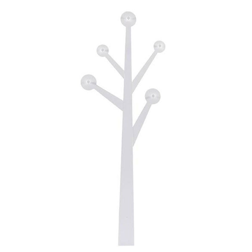 Decorative wooden coat hanger