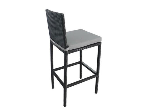 ALIKA outdoor wicker bar table and chair set – Hemma Online ...