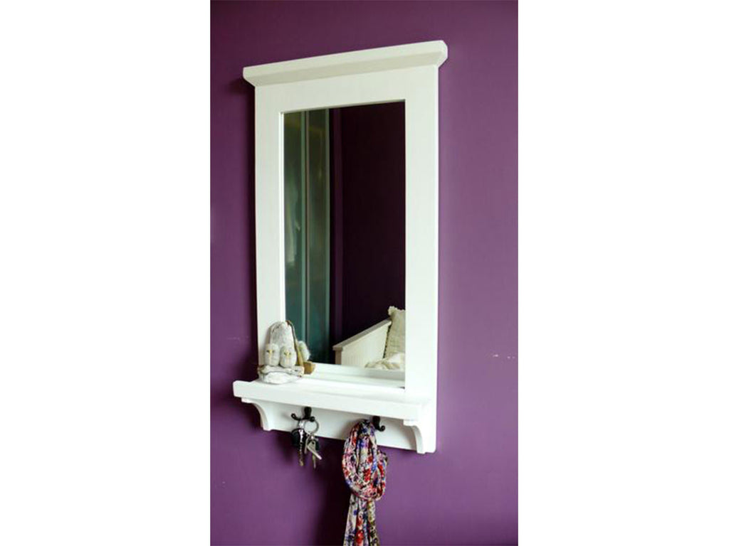 Country Cottage style wooden mirror singapore