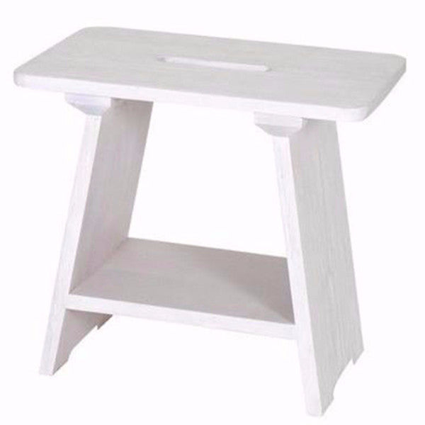 white washed wooden stool singapore
