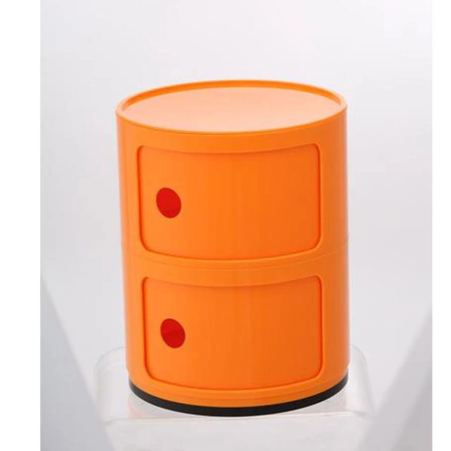 Drum Cabinet with 2 Doors, orange