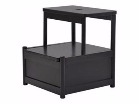 FAME Storage Step Stool, black