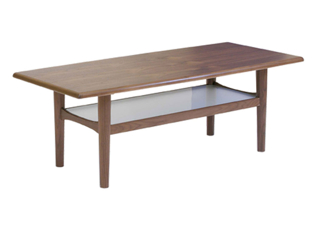 retro scandinavian style solid wood coffee table