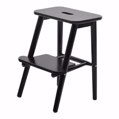 Perstorp Wooden Step Stool, black