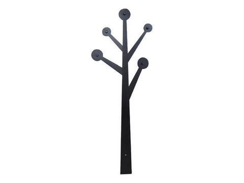 Decorative tree wooden coat hanger