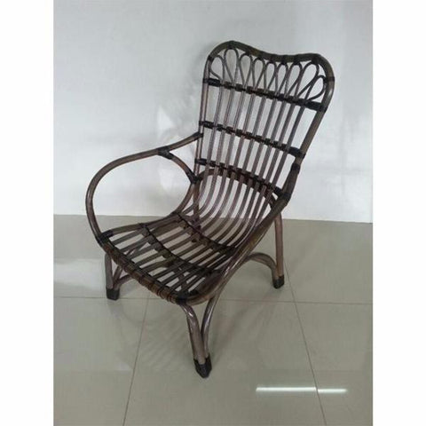 Grenada Rattan Armchair, grey wash