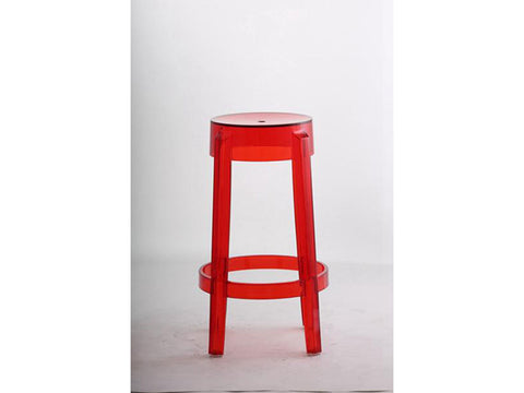 red ghost acrylic stool singapore