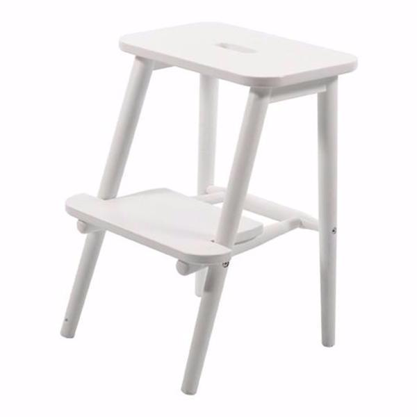 Perstorp Wooden Step Stool, white