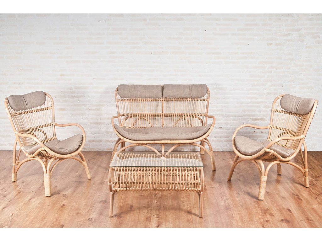 Hawaii rattan living set